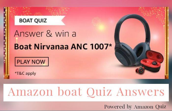 Boat Quiz Answers: Win boAt Nirvanaa 1007 ANC Headphones