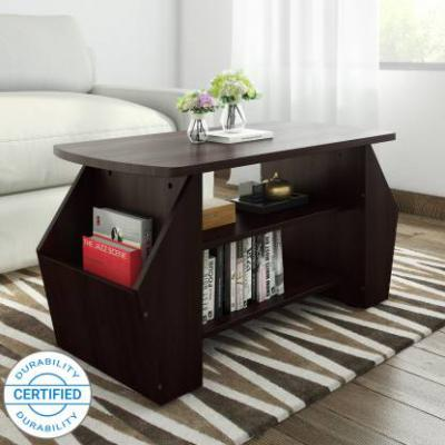 Valtos Engineered Wood Coffee Table  (Finish Color - Wenge)