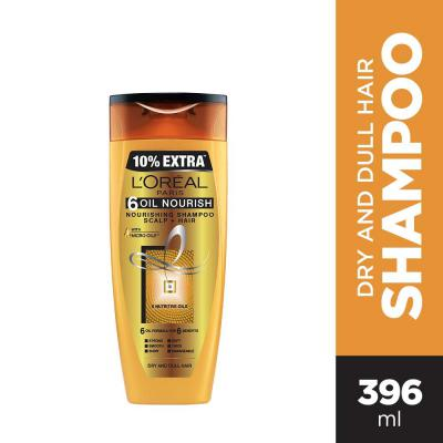 L'Oreal Paris 6 Oil Nourish Shampoo, 360ml