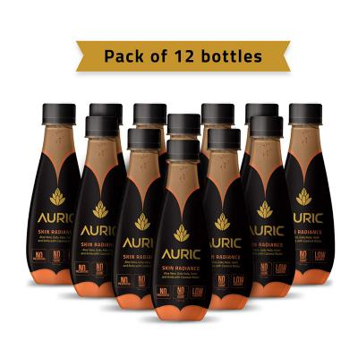 Auric Skin Radiance Ready to Drink Juice (Pack of 12)