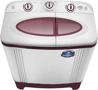 Intex 6.2 kg Semi Automatic Top Load Washing Machine Red  (WMSA62RD)