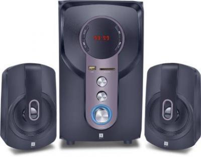 iball Hi-Basss Bluetooth Home Audio Speaker  (Black, 2.1 Channel)