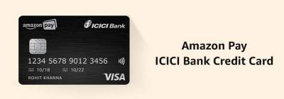 Amazon Pay ICICI Bank Credit card: Cashback & Offer