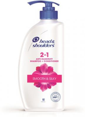 Head & Shoulders Smooth and Silky 2-in-1 Shampoo Plus Conditioner (650 ml)