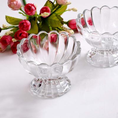 Soogo Glass Ice Cream Bowl Set of 2 pieces