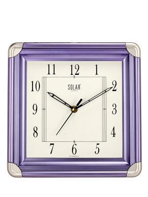 Solar Simple Plastic Wall Clock