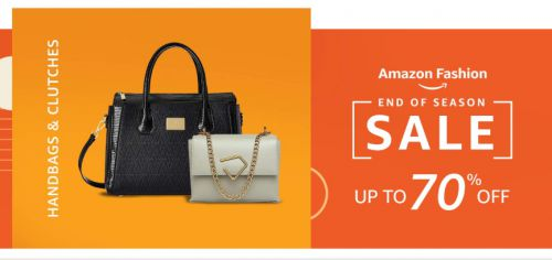 Amazon End Of Season Sale: Handbags and Clutch bags For Women