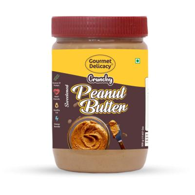 Gourmet Delicacy Crunchy Peanut Butter, 500g