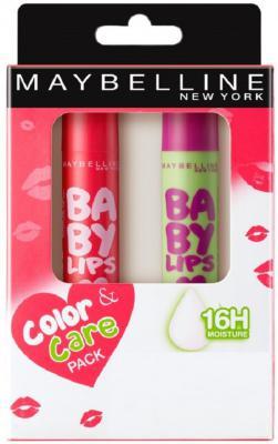 Maybelline New York Baby Lips Combo Cherry Kiss, Watermelon