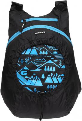 Gear Carry On 16 L Backpack BLACK, BLUE