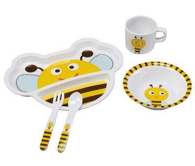 Luvlap Bumble Bee Melamine Cutlery
