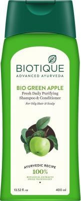 Biotique Green Apple Shampoo and Conditioner