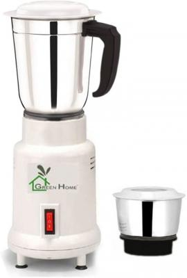 Green Home LT10003 Lotto Opel Stainless Steel White 450 W 2 Jars 450 W Mixer Grinder