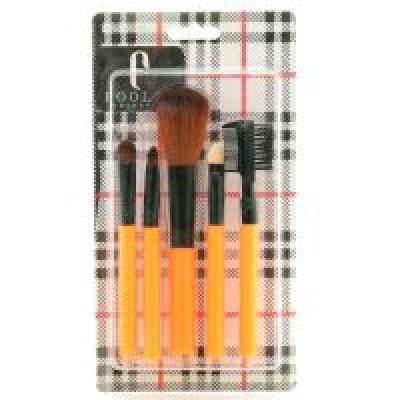 Foolzy BR-9J Makeup Brush Set (5 Pieces)