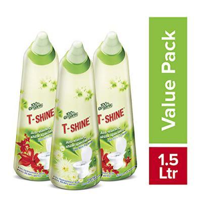 T-Shine 100% Organic Toilet Cleaner 500 ml (Pack of 3)
