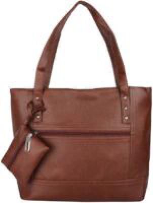 Franklee Women Brown Shoulder Bag MULTICOLOR