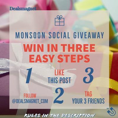 Dealsmagnet Monsoon Giveaway Contest