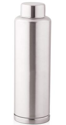 Machak Stainless Steel Fridge Water Bottle, 1 LTR, Silver