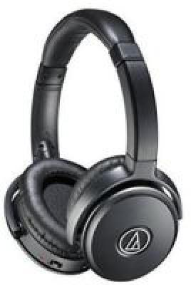Audio-Technica Quiet Point ATH-ANC50IS Active Noise-Cancelling Headphones (Black)