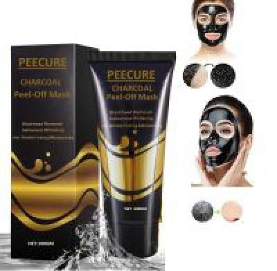 Peecure Activated Charcoal Acne PurifyingBlack Peel Off Face Mask 100GMS