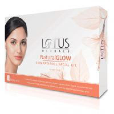 Lotus Herbals Natural Glow Kit Skin Radiance 1 Facial Kit