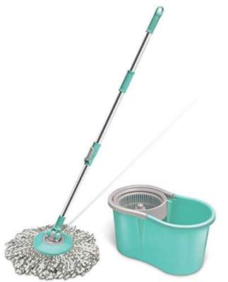 Spotzero By Milton Mini Spin Mop, Aqua green