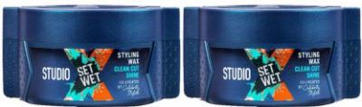 Set Wet Studio X Clean Cut Shine Wax (140 g)