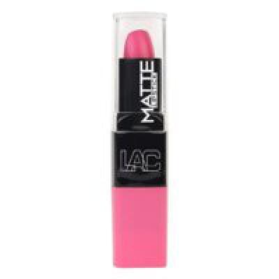 L.A. Colors Matte Lipstick, Charmed Pink, 3.8g