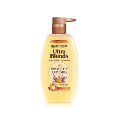 Garnier Ultra Blends Shampoo, Royal Jelly and Lavender, 640ml