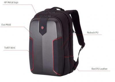 HP Omen Armored 24 Liter Gaming Backpack for 15-inch Laptops