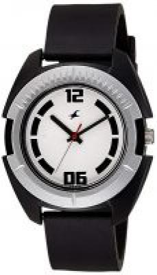 Fastrack Casual Analog White Dial Mens Watch -NK3116PP02
