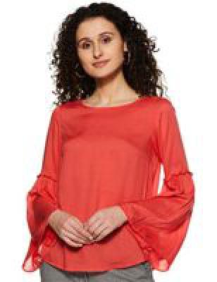 (Size M) Amazon Brand - Symbol Women's Shirt