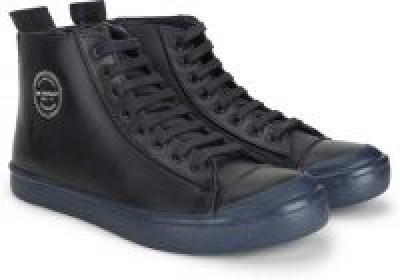 Navy Color Metronaut Boots For Men