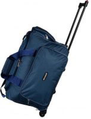 Wellmount 2 Wheel Travel Duffel Trolley Bag-23 Inch Check-in Luggage