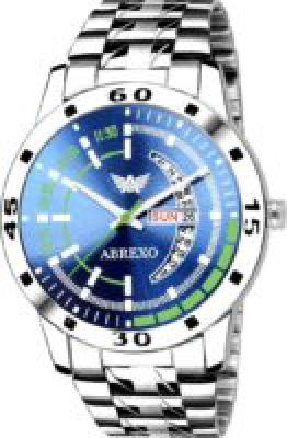 Abrexo Abx2054-BL BLUE DAIL Day & Date Feature Analog Watch  - For Men