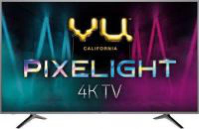 Vu Pixelight 163cm (65 inch) Ultra HD (4K) LED Smart TV (65 QDV / 65 QDV -V1)