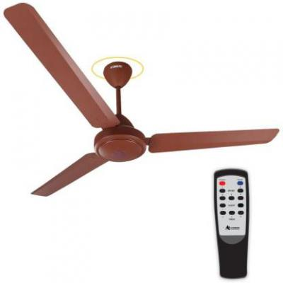 Gorilla Efficio Energy Saving 5 Star Rated Ceiling Fan With Remote Control and BLDC Motor,1200mm 1200 mm 3 Blade Ceiling