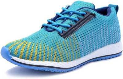 Deals4you Running Shoes For Men  (Blue, Yellow)