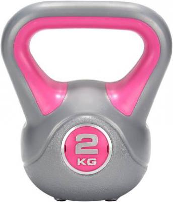 FITSY 2 Kg Cast Iron Pink Kettlebell  (2 kg)