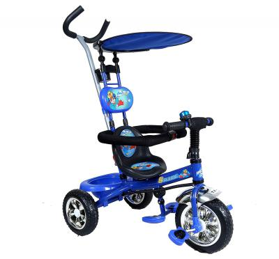 Toyhouse 4 in 1 Luxury Tricycle Blue