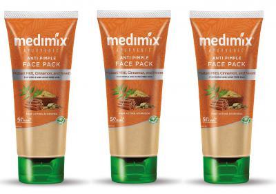 Medimix Ayurvedic Antipimple Cleanser 100 Ml Pack of 3