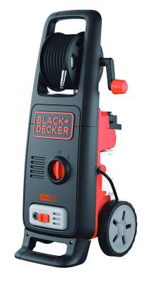 BLACK+DECKER BW17 1700Watt 130 Bar ,420 L/hr Flow Rate Pressure Washer for Car wash and Home use