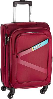 Safari Greater 58 Cms Polyester Blue Cabin 4 Wheels Hard Suitcase