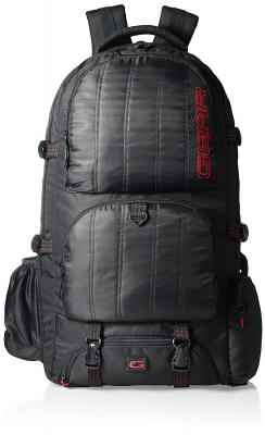 GEAR Black and Red Eco Rucksack (RKSECO0000109)