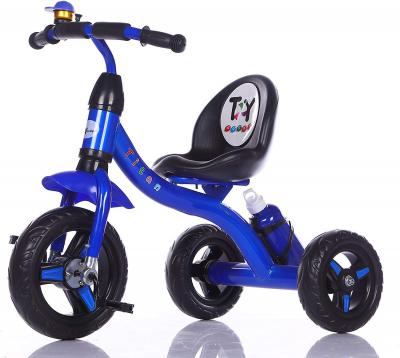 Toy House Titan Tricycle with Water Bottle, Blue