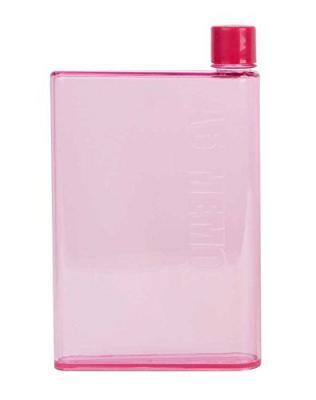 LMS A5 Notebook Plastic Bottle, 380ml, Transparent