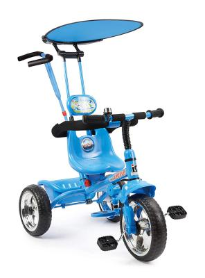 Toy House 4 in 1 Luxury Tricycle Blue