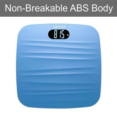Venus EPS 9999 Ultra Lite Personal Electronic Digital LCD Weight Machine (Blue)