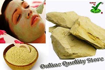 Nakoda Creation Pure Herbal Multani Mitti Powder Form - 400 Grams