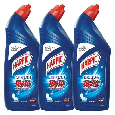 Harpic Powerplus Disinfectant Toilet Cleaner, Original - 1 L (Pack of 3)
